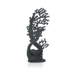 BIORB Fan coral ornament black