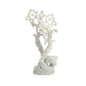 BIORB Fan coral ornament medium white