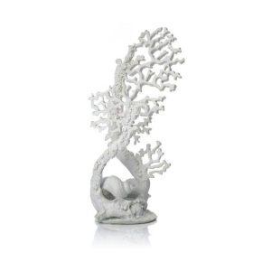 BIORB Fan coral ornament white